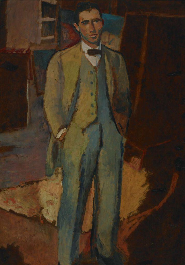 Selbstbildnis, 1914