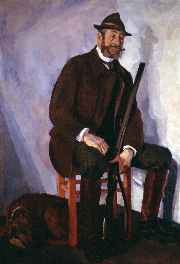 Bildnis Freiherr von Pauer, 1912