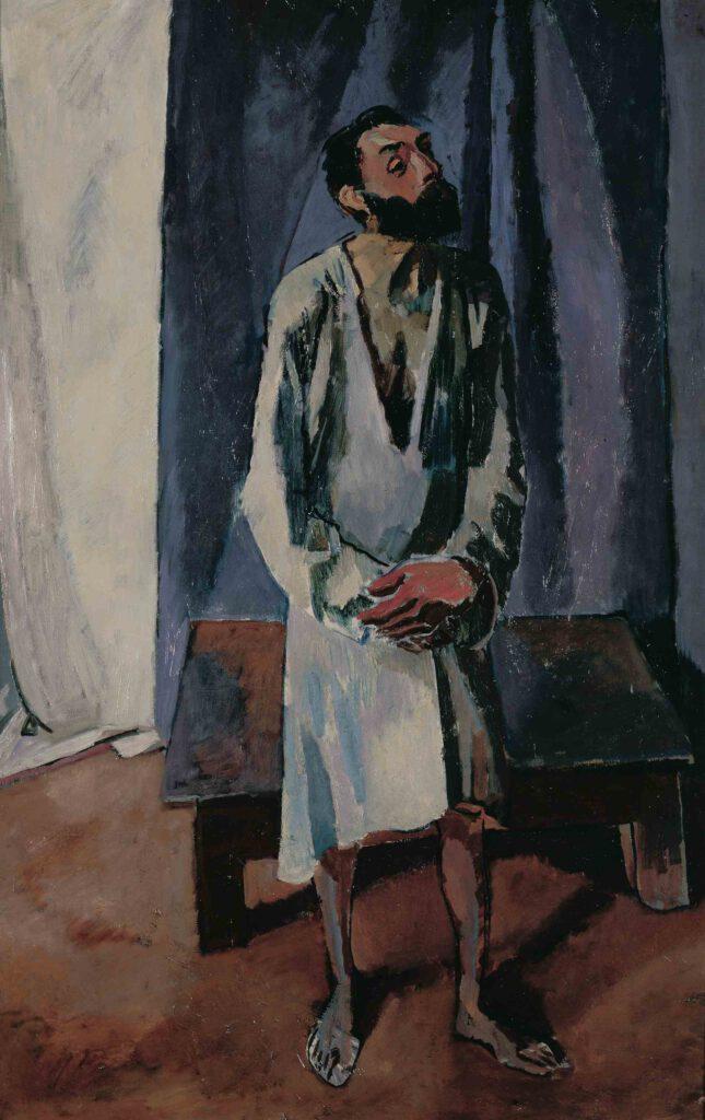 Mann im Hemd, 1913