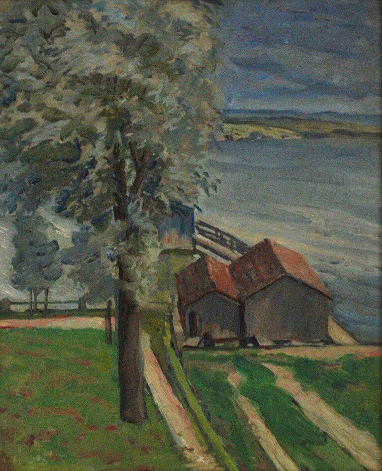 Badehäusl in Schondorf, 1909