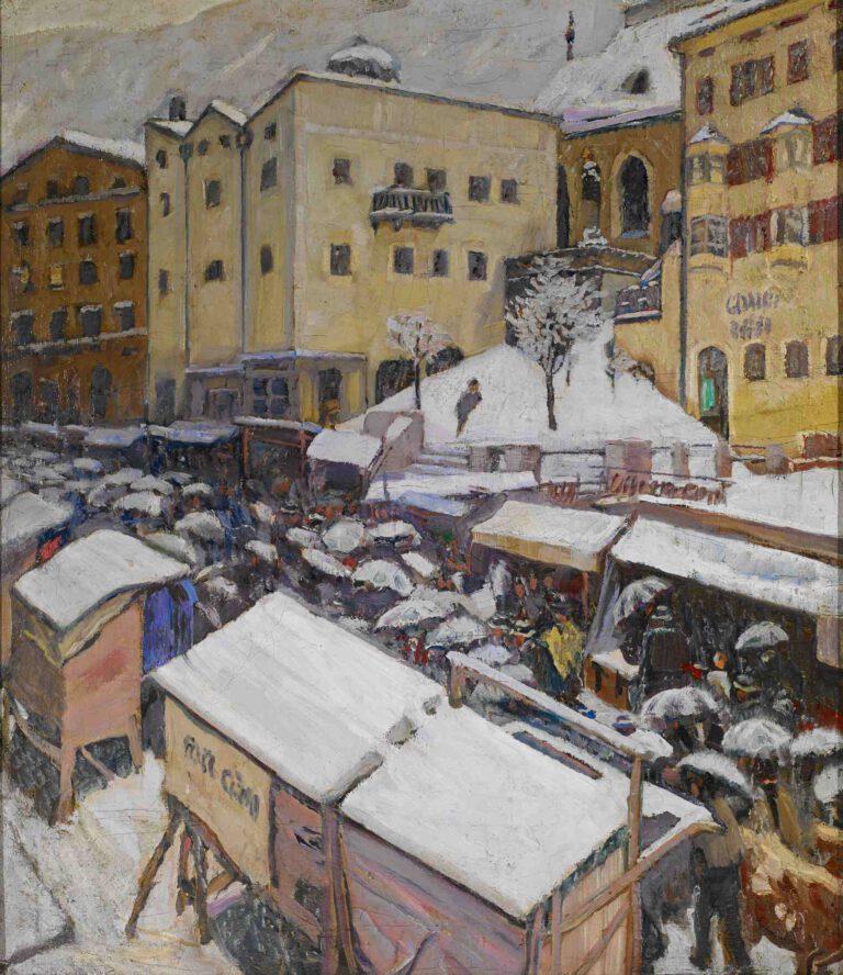 Jahrmarkt in Kufstein, 1907