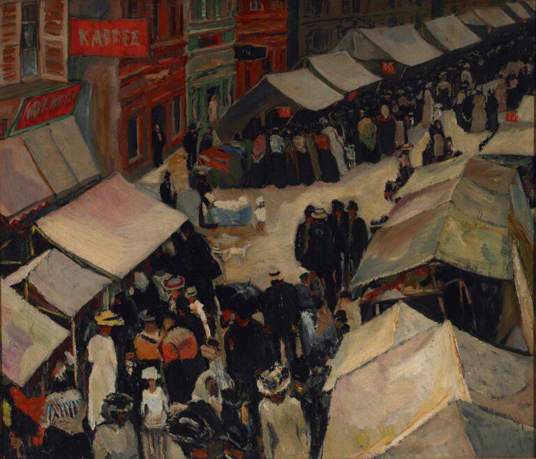 Jahrmarkt in St. Ingbert (I), 1906
