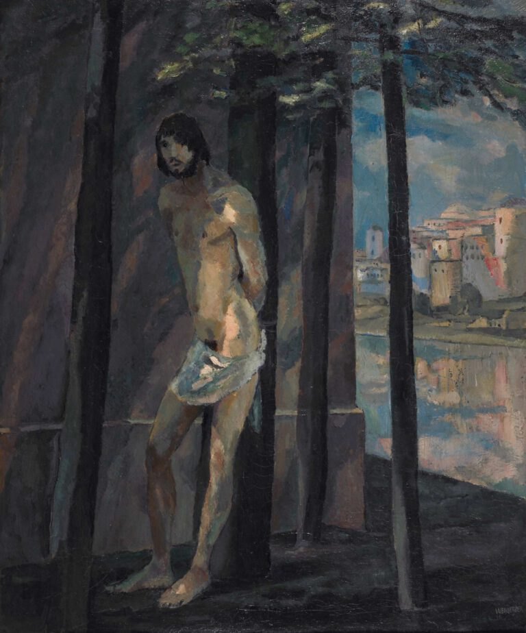 Sebastian an der Mauer, 1911