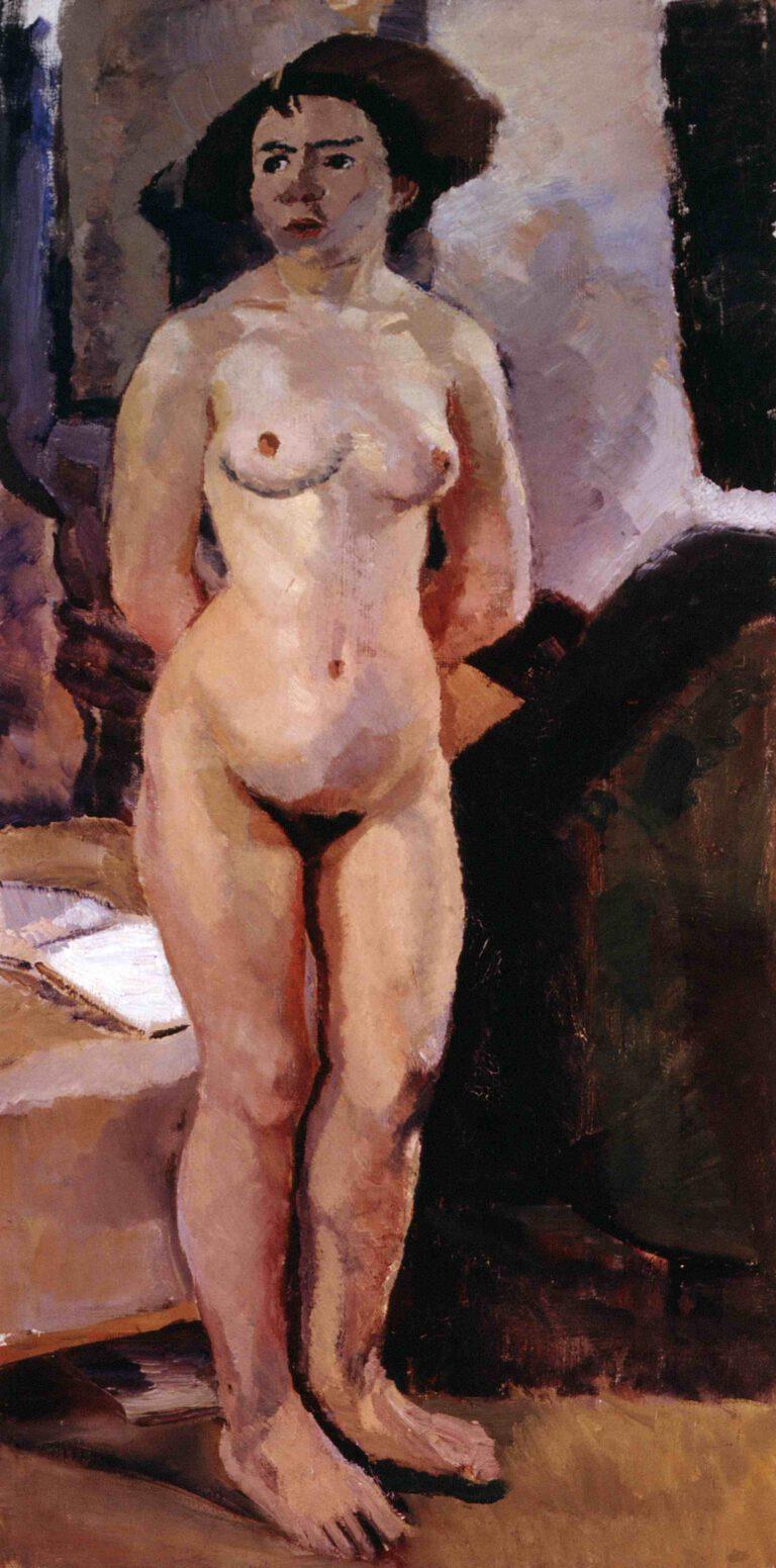 Stehender weiblicher Akt, 1912