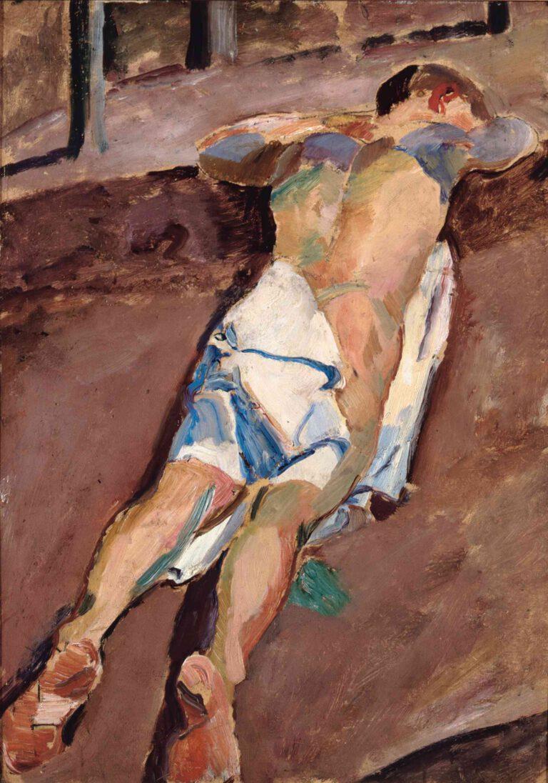 Liegender männlicher Akt (II), 1912