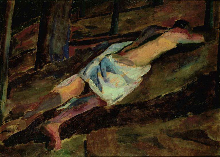 Liegender männlicher Akt (I), 1912