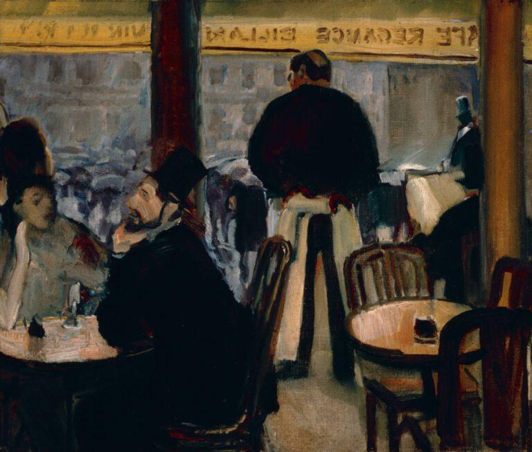Pariser Café, 1906