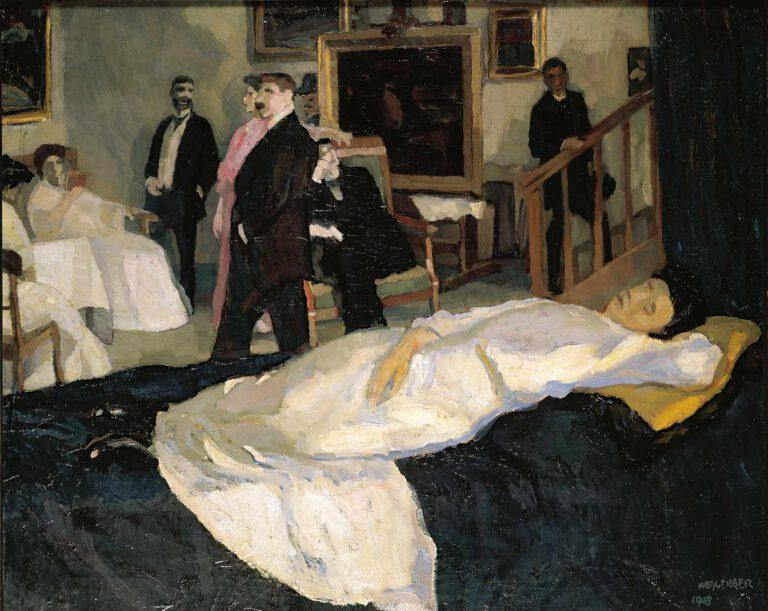Atelierszene, 1908