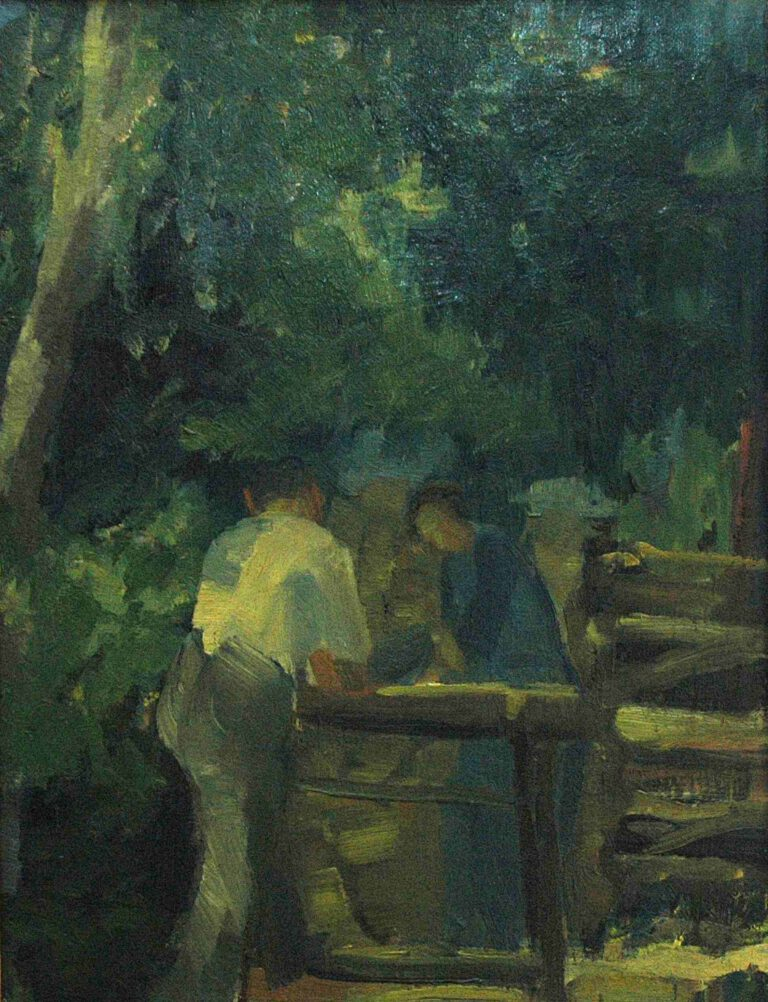 Holzsäger, 1911