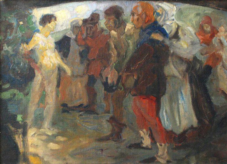 Das Mädchen aus der Fremde, 1898