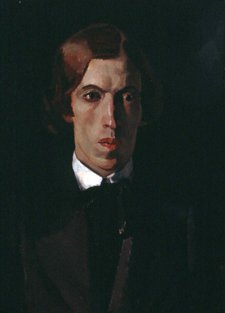 Bildnis eines jungen Dichters, 1910