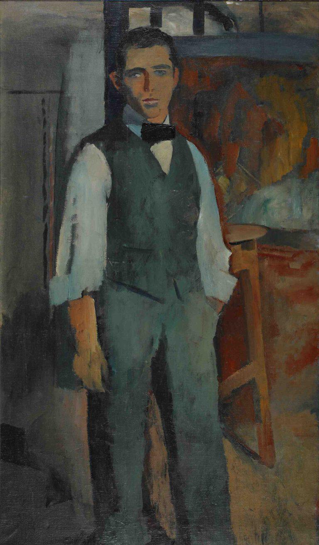 Selbstbildnis, 1912/13
