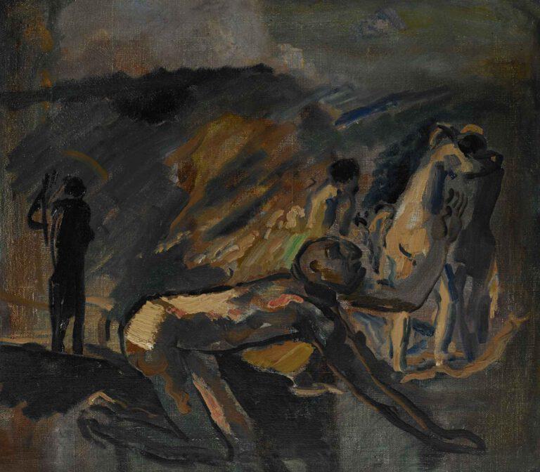Jeremia vor dem Zug in die babylonische Gefangenschaft, 1912