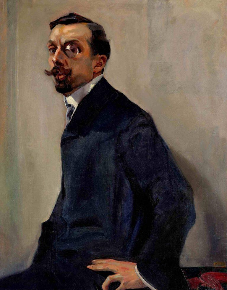 Bildnis des Malers Levier, 1906