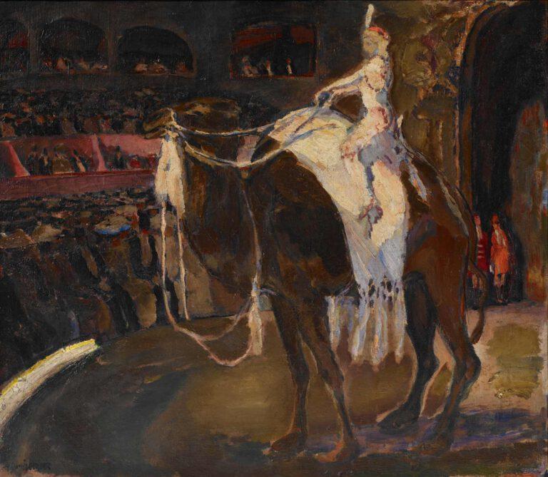 Kamelreiterin im Zirkus Médrano, 1906