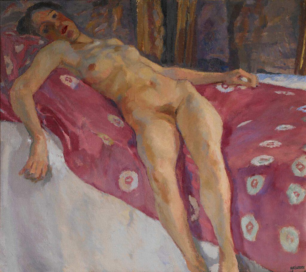 Liegender weiblicher Akt, 1910