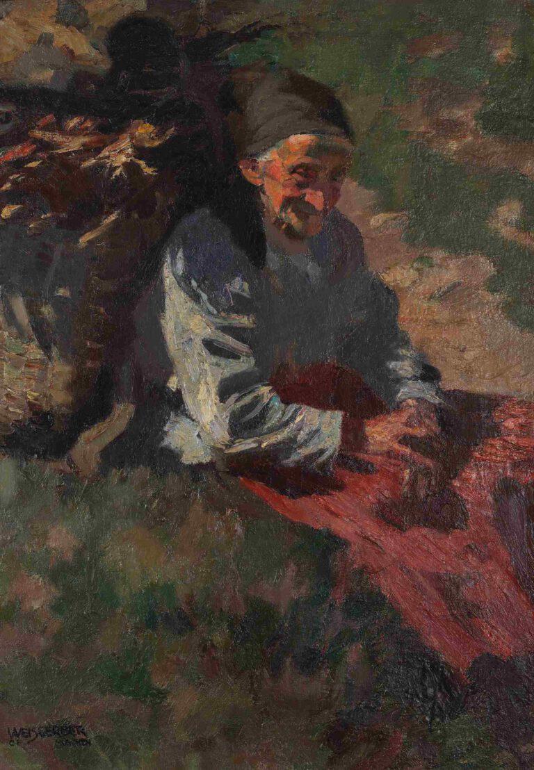 Alte Bäuerin, 1901