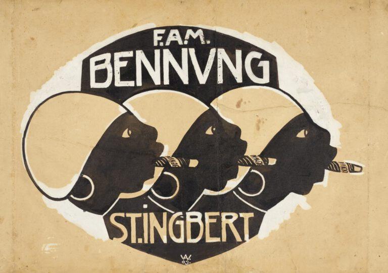 Firmensignet F.A.M. Bennung, 1903